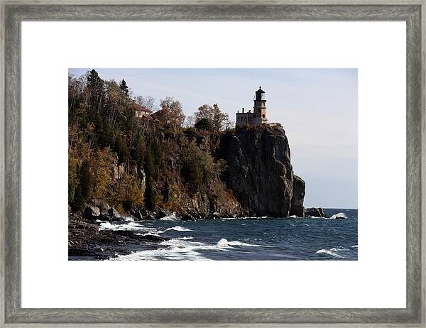 Split Rock Lighthouse Framed Print