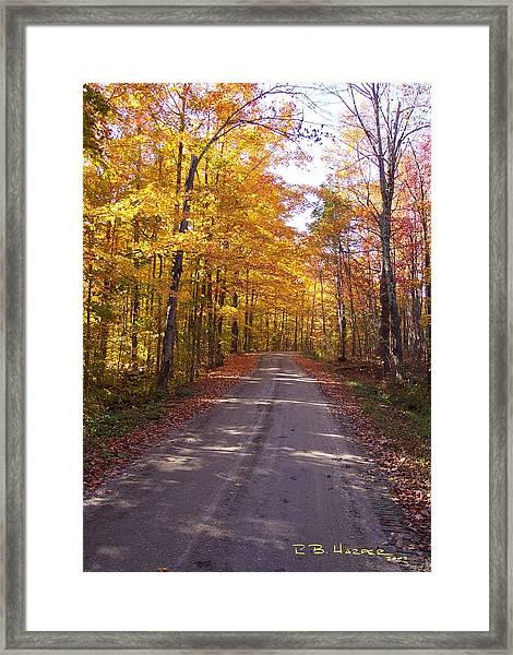 Spooner Road Framed Print