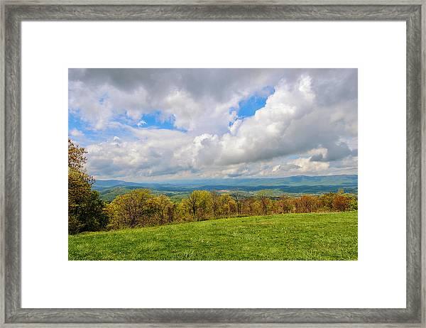 Spring Again In Shenandoah Framed Print