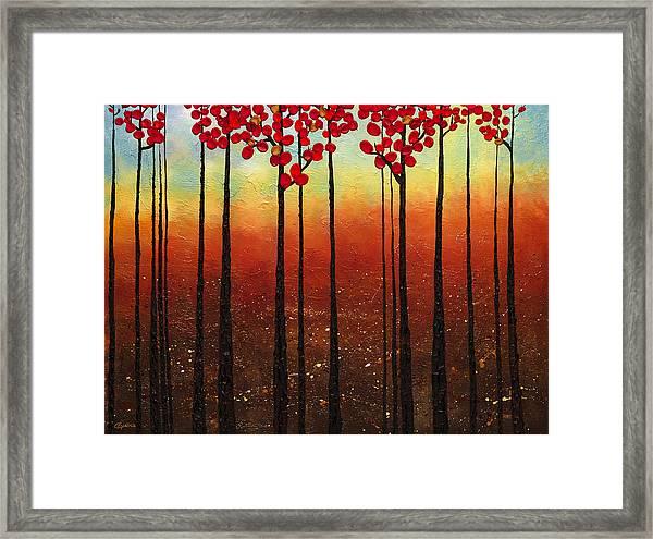 Spring Ahead Framed Print