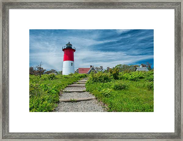 Spring At Nauset Light Framed Print
