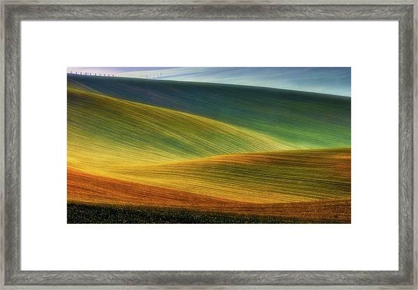 Spring Fields Framed Print by Piotr Krol (bax)