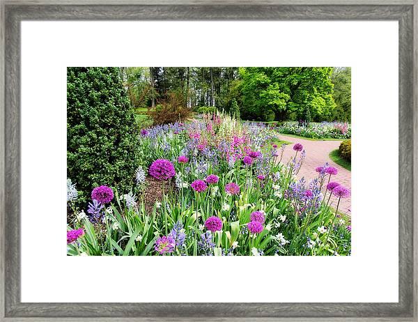 Spring Gardens Framed Print