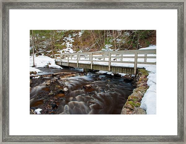Spring Hike  Framed Print