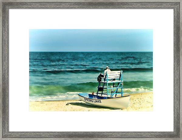 Spring Lake Framed Print