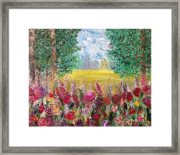 Spring Meadows Framed Print by Janie Kraemer