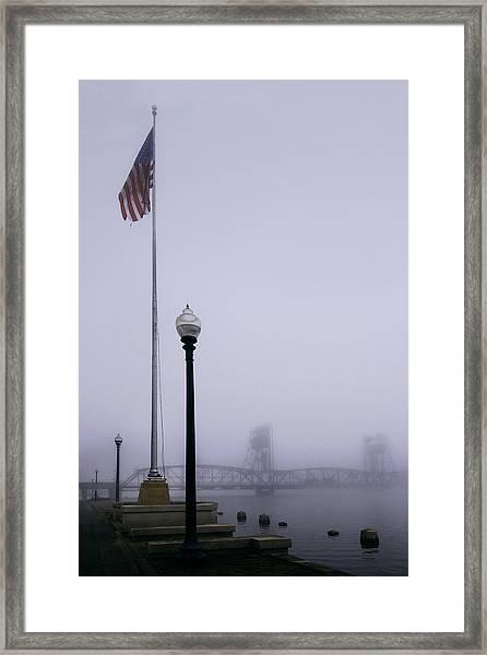 Spring Melt Framed Print