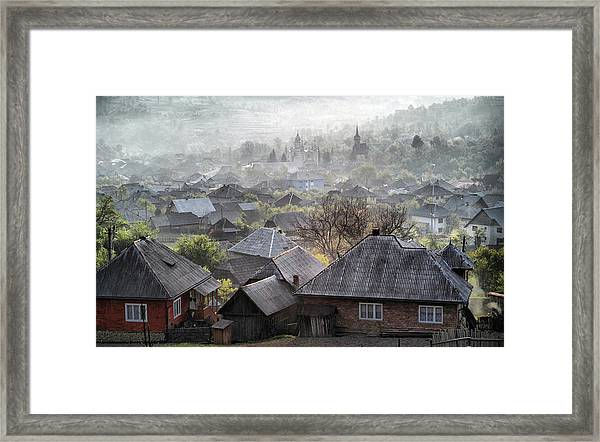 Spring Morning Framed Print