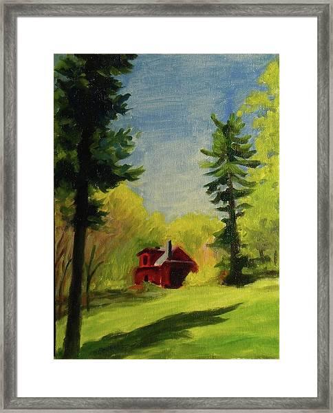Spring Stony Point Park Framed Print