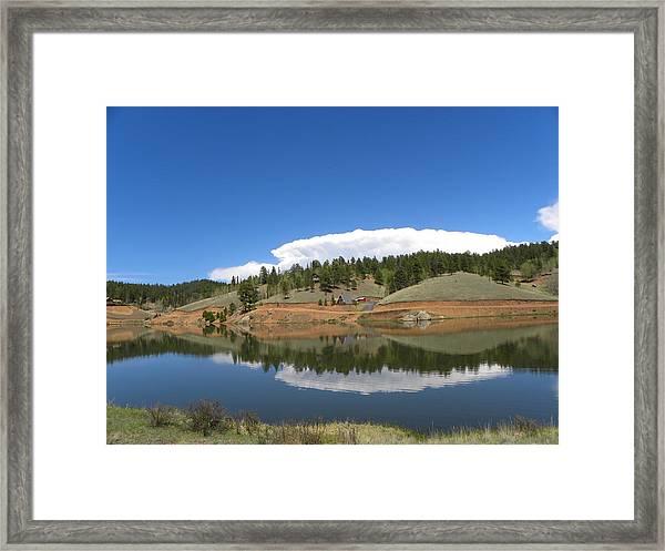 Ridge Over Burgess Res Divide Co Framed Print