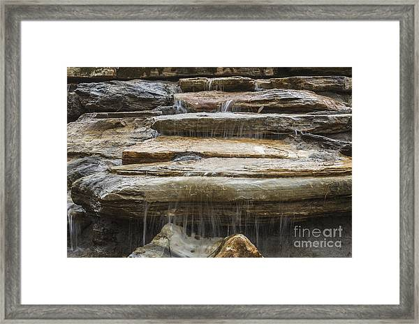 Spring Waterfall 2 Framed Print