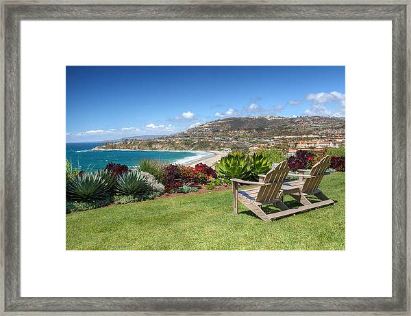 Springtime At Salt Creek Beach Framed Print