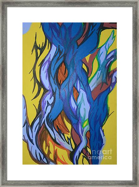 Sprouting Seed 2 Framed Print