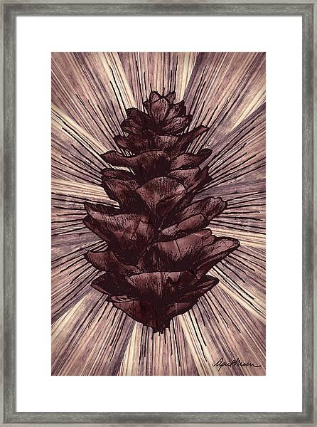 Spruce I Framed Print