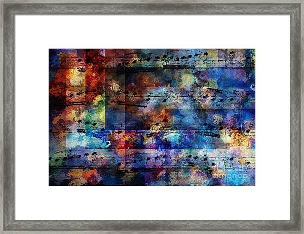 Squared Off Framed Print