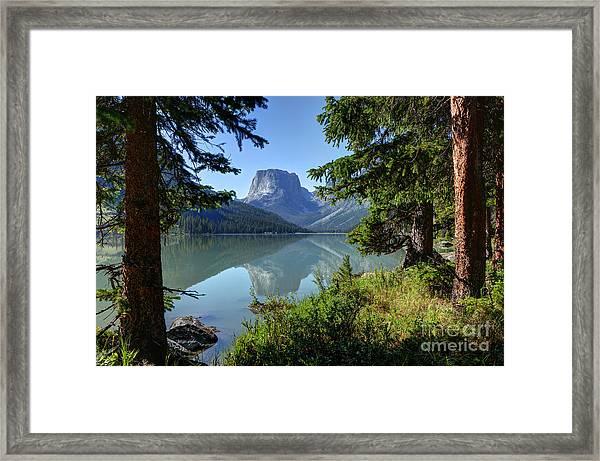 Squaretop Mountain - Wind River Range Framed Print