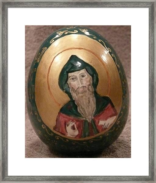 St. Andrew Framed Print