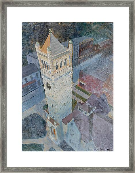 St Andrews Bell Tower Framed Print