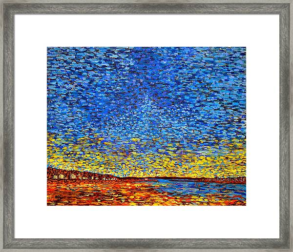 St. Andrews Sunset Framed Print