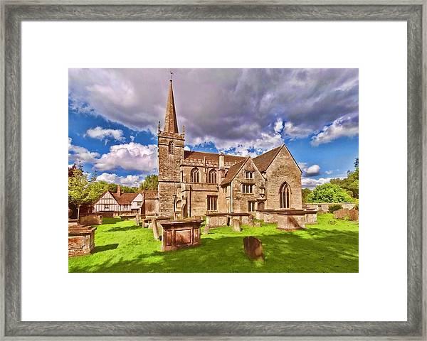 St Cyriac Church Lacock Framed Print