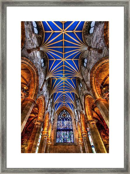 St Giles Cathedral Edinburgh Framed Print