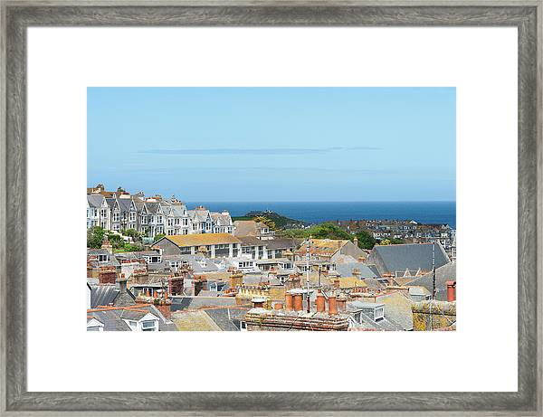 St Ives Framed Print by Caphoto