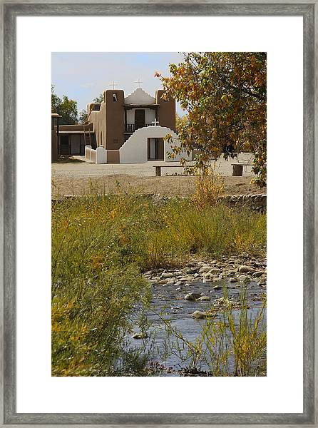 St. Jerome - Taos Pueblo Framed Print