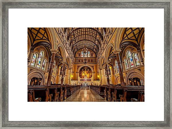 St. Joseph Church Framed Print