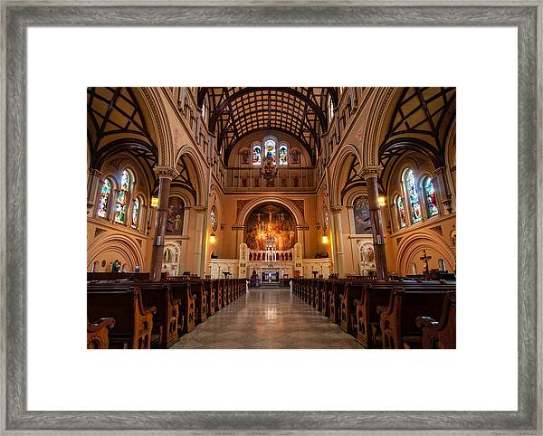 St. Joseph Church - New Orleans Framed Print