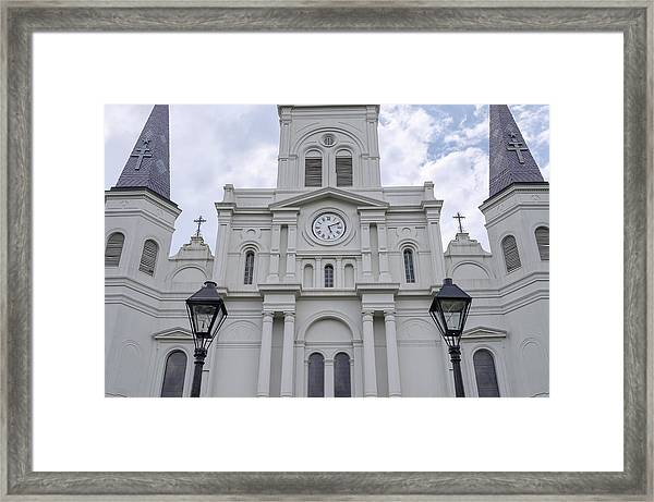 St. Louis Cathedral Close-up Framed Print