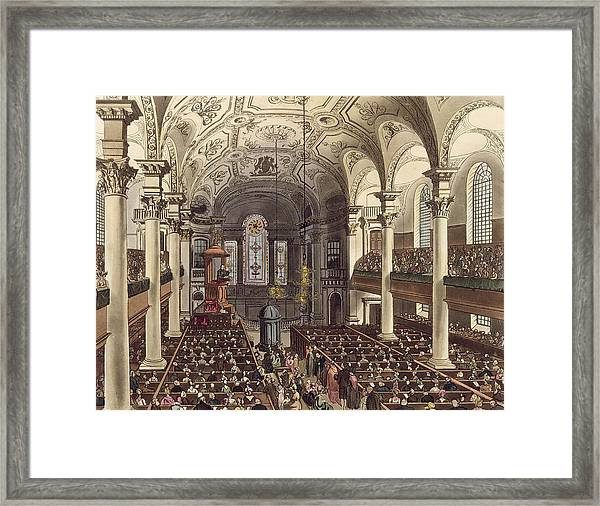 St Martins In The Fields Framed Print