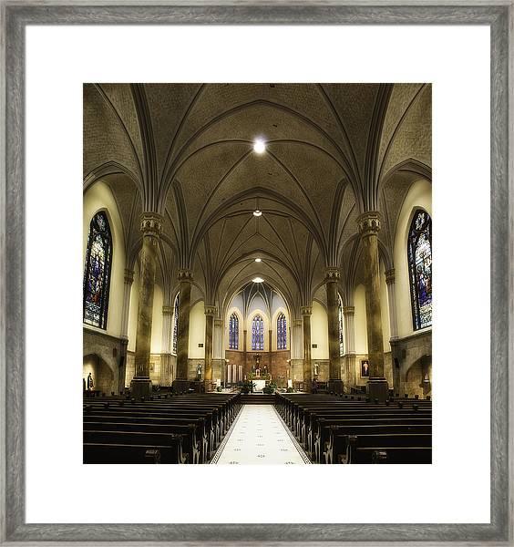 St Mary's Catholic Church Framed Print