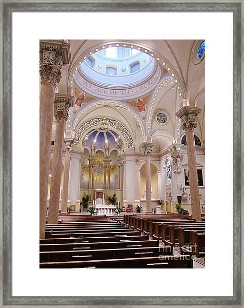 St Marys Framed Print