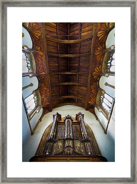 St Michael's Church Framlingham Framed Print