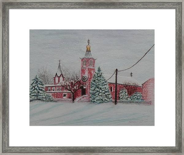 St. Nicholas Church Roebling New Jersey Framed Print