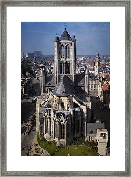 St Nicholas Church View Framed Print