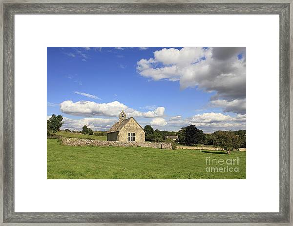St Oswalds Chapel Oxfordshire Framed Print