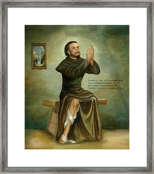 St Peregrine Framed Print