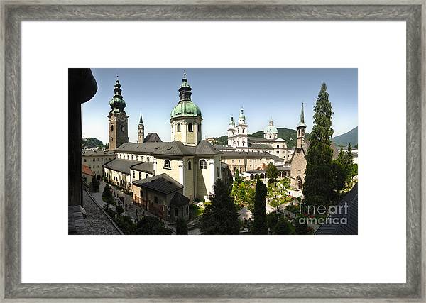 St. Peter's Abbey Cemetery Framed Print