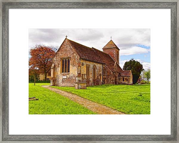 St Peters Church 2 Framed Print