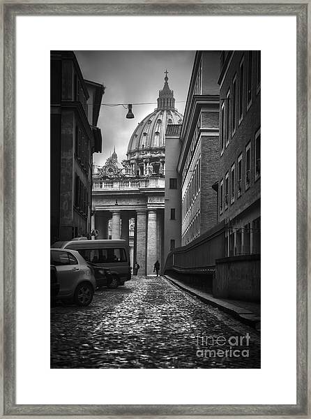 St Peters Vatican City Framed Print
