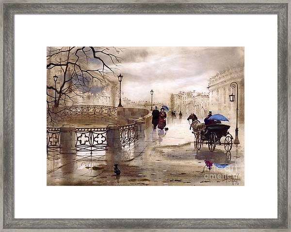 St. Petersburg Framed Print