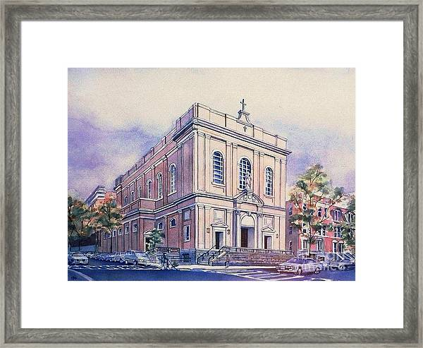 St Saviors Church  Framed Print