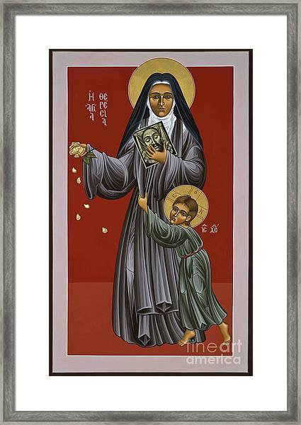 St. Therese Of Lisieux Doctor Of The Church 043 Framed Print
