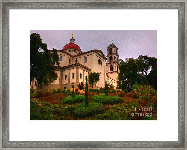 St. Thomas Aquinas Church Large Canvas Art, Canvas Print, Large Art, Large Wall Decor, Home Decor Framed Print