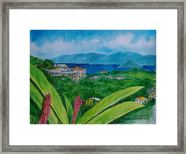St. Thomas Virgin Islands Framed Print
