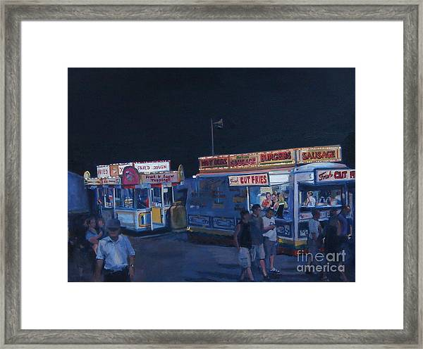 Stafford Night Framed Print
