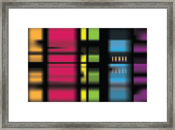 Stainbow Framed Print