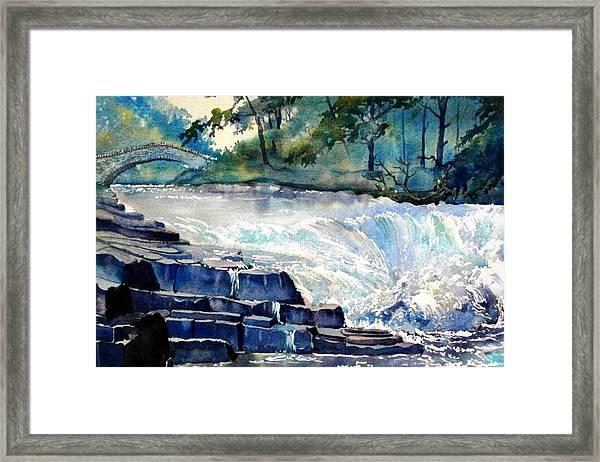 Stainforth Foss Framed Print