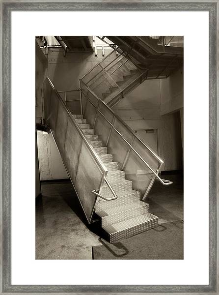Stairs 01 Framed Print